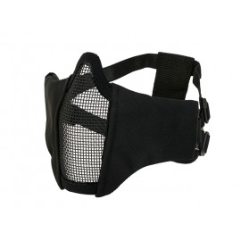 PDW Steel Half Face Mask Black