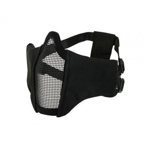 PDW Steel Half Face Mask Black