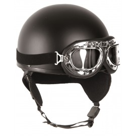 Black Half Shell Helmet