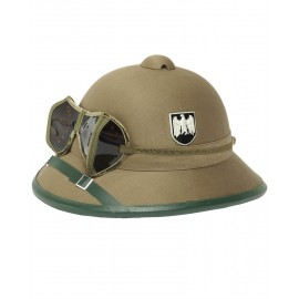 WWII Tropical Helmet with Googles