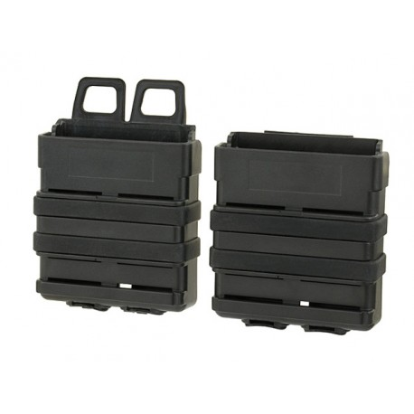 Black Polymer Pouch for 7.62 Magazine