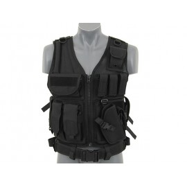 Black Tactical Vest V2