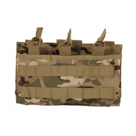 Triple Mag 7.62/.308 Open Top Pouch Multicam