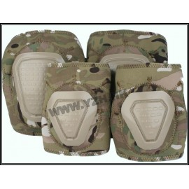 Multicam knee and elbow joint set