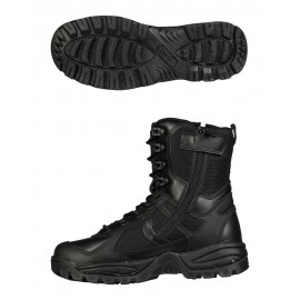 Black Patrol Boots One-ZIP