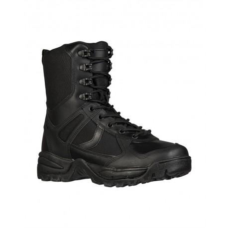 Black Patrol Boots One-ZIP