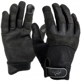 Black Urban Tactical Vent Gloves
