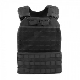 Black Tactical Plate Carrier Vest [WST]