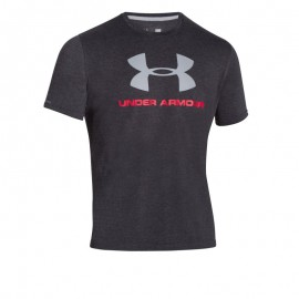 "T-Shirt ""Sportstyle Big Logo T"" Grey [Under Armour]"