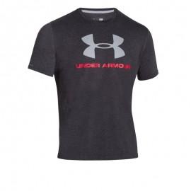 "T-Shirt ""Sportstyle Big Logo T"" Cinza [Under Armour]"