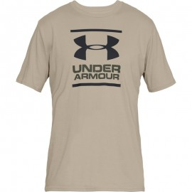 "T-Shirt ""GL Foundation"" Beije [Under Armour]"