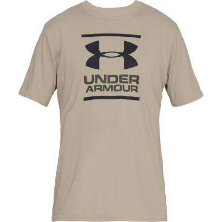 "T-Shirt ""GL Foundation"" Beije [Under Armour]"
