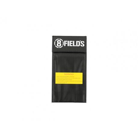 Black Safety Bag for LiPo 20x10cm [8Fields]