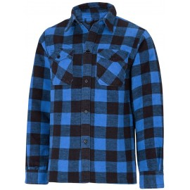 Blue Flannel Shirt [Miltec]