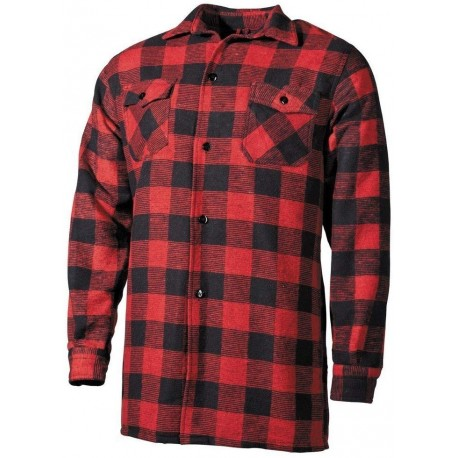 Red Flannel Shirt [Miltec]