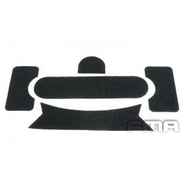 Velcro p/ Capacete FAST Preto [FMA]