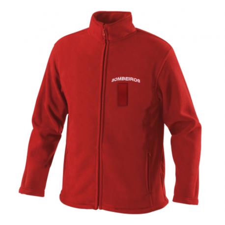 Red Fireman Softshell Jacket