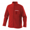 Red Fireman Softshell Jacket