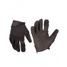 Black Combat Touch Gloves