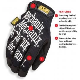 "Black Mechanix Gloves ""The Original"" [Mechanix Wear]"