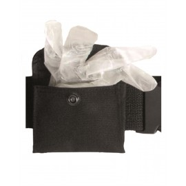 Black Bag for Disposable Gloves