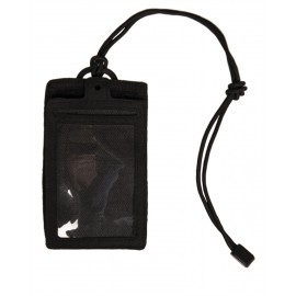 Black ID Card Case