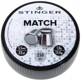 Lead Match 5,5mm/0,90g 250Rnd [Stinger]