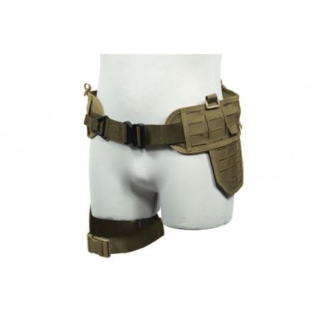 Drop Leg Laser Cut Tactical Belt TAN [Primal Gear]