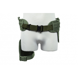 Drop Leg Laser Cut Tactical Belt Ranger Green [Primal Gear]