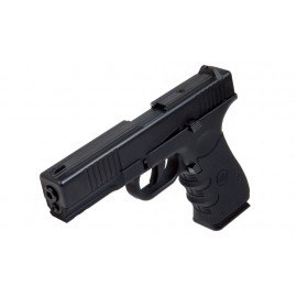 Pistol G17 MK1 Blowback 4,5mm CO2 Preta [Stinger]