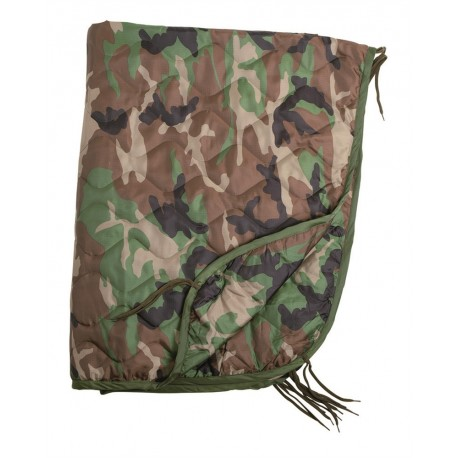 Woodland US Style Poncho Liner [Miltec]