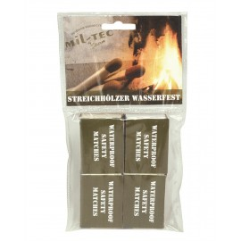 Waterproof Matches 4 Pack [Miltec]