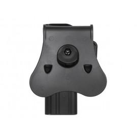 Coldre Glock 17/22/31 Preto [Amomax]