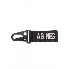 Porta-Chaves Tático AB Negativo Preto