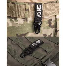 Black Tactical Key-Holder AB Negative