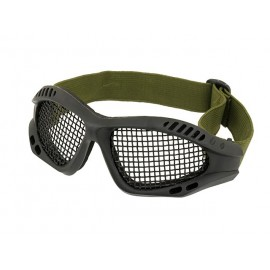 Black Steel Mesh Googles MOD2