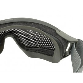 Foliage Green Tactical Googles with Steel Net