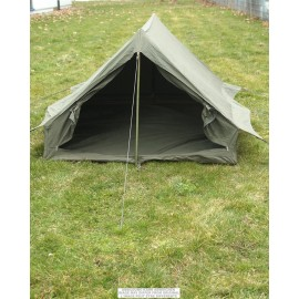 French OD 2-Men F1 Tent w/ Groundsheet (Like New)