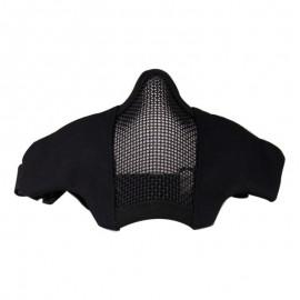 Foldable Half Face Mask Black [DragonPro]