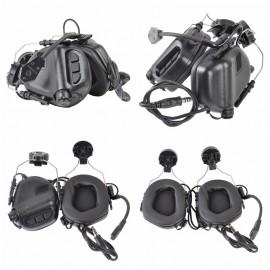 Black M32H Mod 3 Helmet Headset [Earmor]