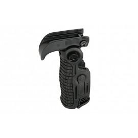 Foldable RIS Tactical Grip - Black [FMA]