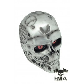 Silver Terminator Mask