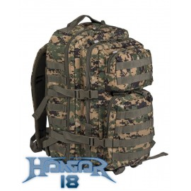 Backpack US Assault 36L Digital Woodland