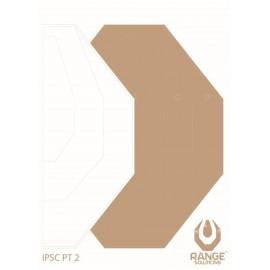 Paper Shooting Targets IPSC-PT2 50PCS [Range]