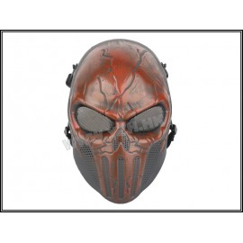 Punisher Red TPU Mask