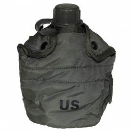 US Camo Canteen w/ Cover Used