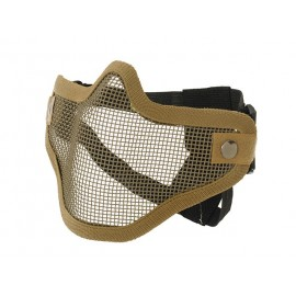 Coyote/TAN Steel Half Face Mask