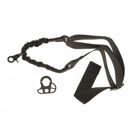 One-point Bungee Sling Black with Mount [GFC
