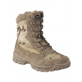 Multicam Tactical Boots with Zipper [TEESAR]