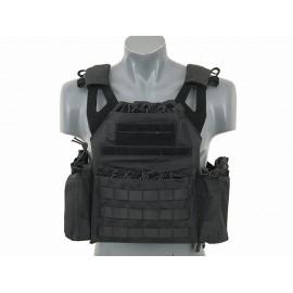 Black JPC Vest w/ Pouches